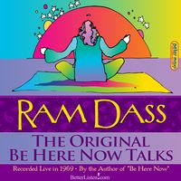Peter Max cover art for Ram Dass Be Here Now Tapes