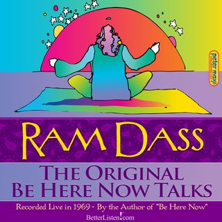 Ram Dass Original Be Here Now Tapes with Peter Max artwork