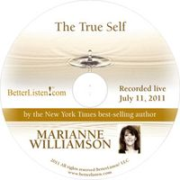 The True Self With Marianne Williamson Cover