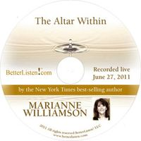 Marianne Williamson Cover The Altar Within