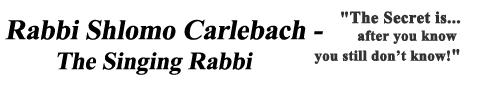 shlomo carlebach the secret