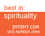 intent winner best spirituality site onthe web 2010